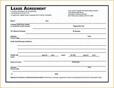 Free Downloadable Lease Agreement Excel Template