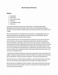 My First Day In School Essay My First Day In College Essay