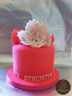 Breast Cancer Cake Designs Pink Cake For Breast Cancer Awareness Cakecentral Com