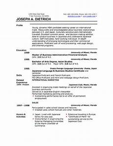 Resumes Download Ms Word Format Free Resume Template Downloads Easyjob