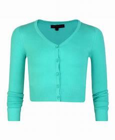 sleeve cropped cardigan v neck knit
