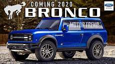 2020 ford bronco official pictures 2020 ford bronco new secrets revealed new info