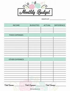 2020 Budget Planner 2020 Financial Planner Free Printable Simply Stacie