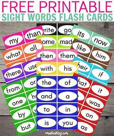 Flash Cards Words Free Printable Sight Words Flash Cards It S A Mother Thing