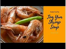 How to Cook Tom Yum Shrimp Soup   Pinoy Style   YouTube