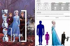 how tall is olaf from frozen