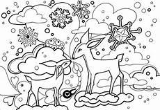 Ausmalbilder Winter Ausdrucken Free Printable Winter Coloring Pages