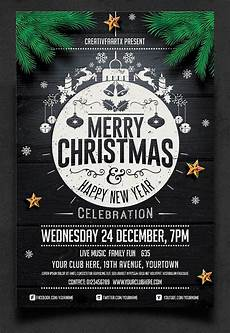 Work Christmas Party Flyer 50 Amazing Christmas And New Year S Flyers For The