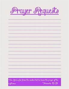 Prayer Template Coffee Crafts Amp Cornfields Prayer Request Printables