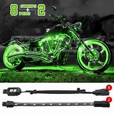 Motorcycle Led Light Kit 10 Pc Bright Led Motorcycle Accent Light Kit Yamaha Honda
