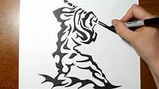 Tribal Warrior Designs How To Draw A Samuraii Warrior Tribal Design