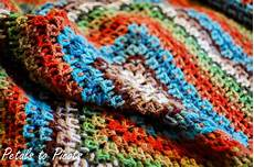 kaleidoscope crochet afghan pattern petals to picots