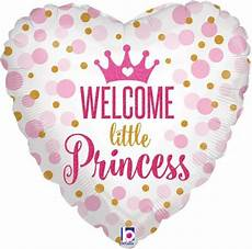 Welcome Baby Girl 18 Quot Welcome Baby Shower Little Princess Pink Girl Born