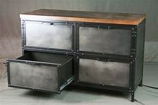 industrial file cabinet with storage industrial style