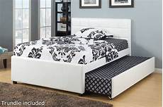 poundex f9216f size bed with trundle in los angeles ca