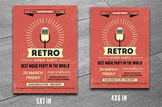 Great Flyers Retro Music Club Party Flyer V190 Flyer Templates