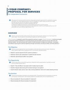 Template Proposal Download A Free Business Proposal Template Formfactory