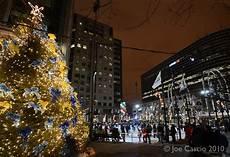Buffalo Ny Light Show Downtown Buffalo Tree Lighting Ceremony Buffalo Rising