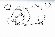 guinea pig coloring pages to and print for free