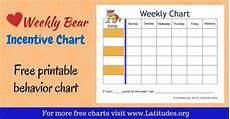 Weekly Behavior Chart Free Printable Chore Charts Ages 11 Acn Latitudes