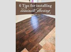 6 Tips for Installing Laminate Flooring