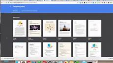 Google Docs Portfolio Template How To Use Google Docs Templates Youtube
