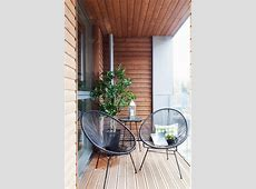 awesome small balcony design ideas also wooden ceiling and floor also uniqur round chair design