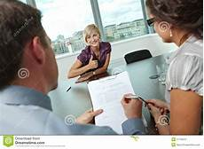 Successful Jobs Successful Job Interview Stock Photo Image Of Career