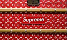 Wallpaper Louis Vuitton Supreme by A Closer Look At Supreme X Louis Vuitton Fw17 Highsnobiety