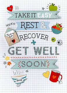 Words For A Get Well Card Get Well Soon Greeting Card Cards