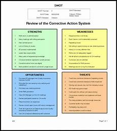 Strengths Of A Manager Swot Manager