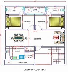 30x40 sq ft simplex house plan arch planest medium