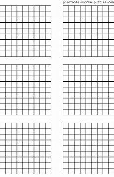 Sudoku Templates Free Printable Blank Sudoku Grids With Images Sudoku