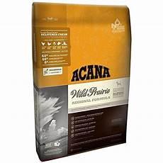 Grain Free Dog Food Comparison Chart Acana Wild Prairie Dry Dog Food New Formula 5 Lb You