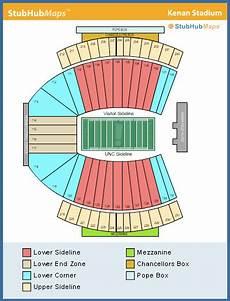 Unc Kenan Stadium Seating Chart North Carolina Football Kenan Memorial Stadium Espn