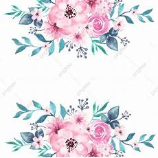 Floral Backgrounds Watercolor Floral Background Peony Spring Transparent