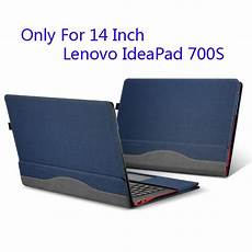 lenovo 14 inch laptop sleeve detachable cover for lenovo ideapad 700s 14 inch laptop