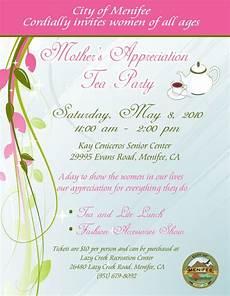 Menifee Mother S Day Tea Party Menifee 24 7