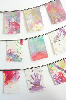 make wall hangings from your child s artwork meri cherry