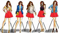 fashion design drawing 2017 fashion style drawing