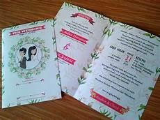undangan pernikahan lucu inspirasi