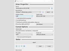 Download Rufus USB (64 bit   32 bit) for Windows 10 & 7