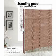 6 panel privacy screen room divider folding partition