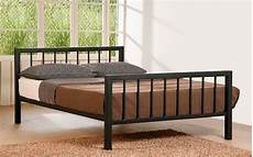 time living metro metal bed frame mattress