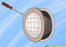 How To Change Pool Light Bulb How To Change A Pool Light 13 Steps With Pictures Wikihow