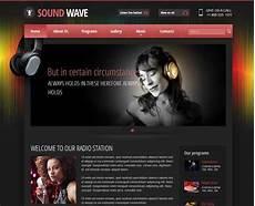Radio Station Template Radio Themes Online Radio Station Templates Gridgum
