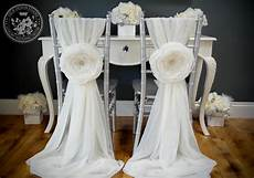 vintage glam white chiffon chair covers for reception diy