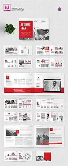 Business Plan Template Indesign Business Plan Landscape Template Adobe Indesign Template