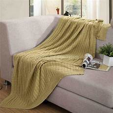 new knit throw blanket for summer autumn throw blanket on