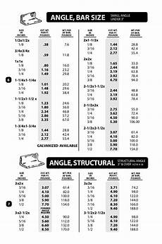 2x2 Size Chart Databook